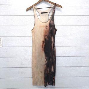 All Saints Spitafields Tie Dye Tank Dress